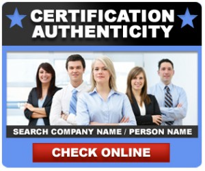 how to verify iso certificate