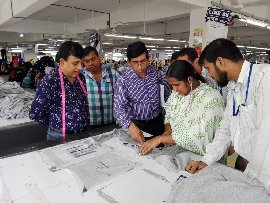 quality audit in garment